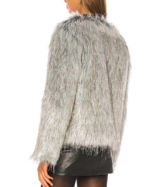 Gina B Positive Annaleigh Ashford Fur Jacket