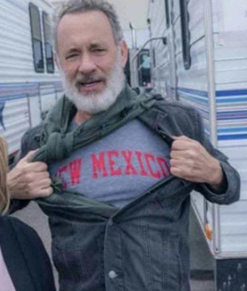BIOS 2021 Tom Hanks Denim Black Jacket