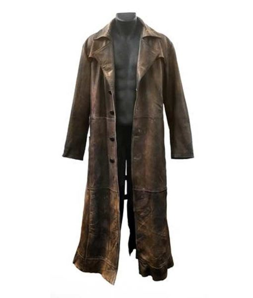 Batman Knightmare Brown Leather Jacket
