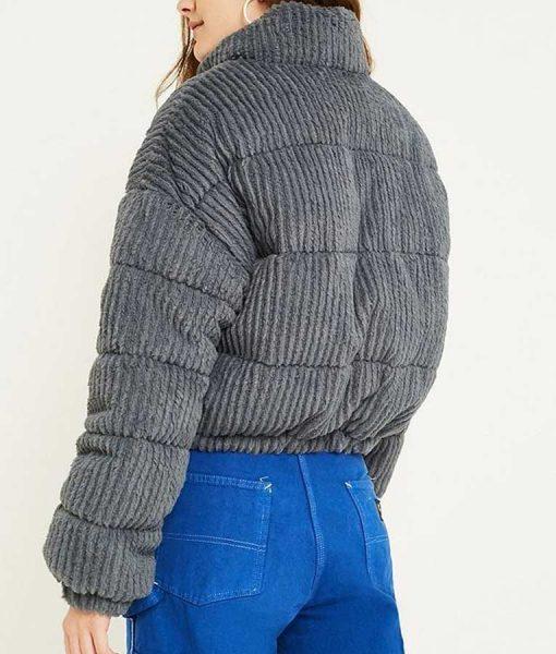 Miriam Ingrid Beartown Maya Andersson Corduroy Cropped Jacket