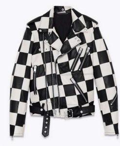 Bold and the Beautiful Paris Buckingham Leather Jacket