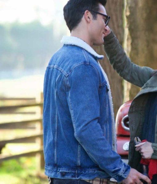 Superman and Lois Denim Jacket