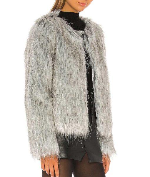 B Positive Gina Fur Jacket