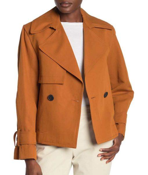 L.A.'s Finest S02 Nancy McKenna Cropped Belted Jacket