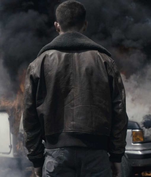 Jimi Stanton Exodus 2021 Connor Leather Jacket