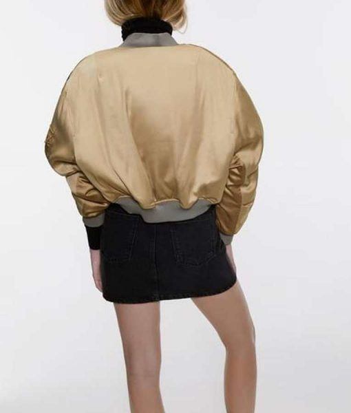 Gabrielle Union Bomber Style L.A.'s Finest S02 Sydney Burnett Cropped Jacket