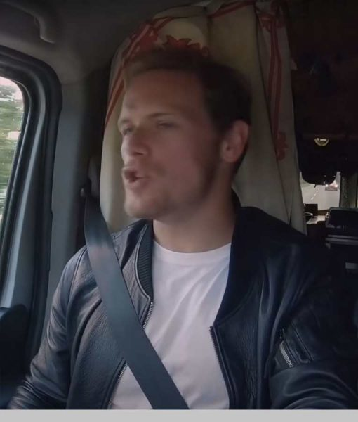 Men In Kilts A Roadtrip With Sam And Graham Bomber Jacket