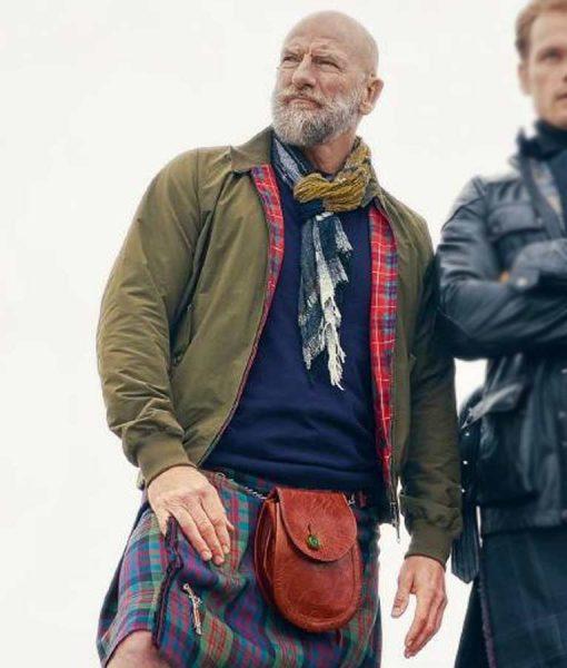 Men In Kilts A Roadtrip With Sam And Graham McTavish Bomber Jacket