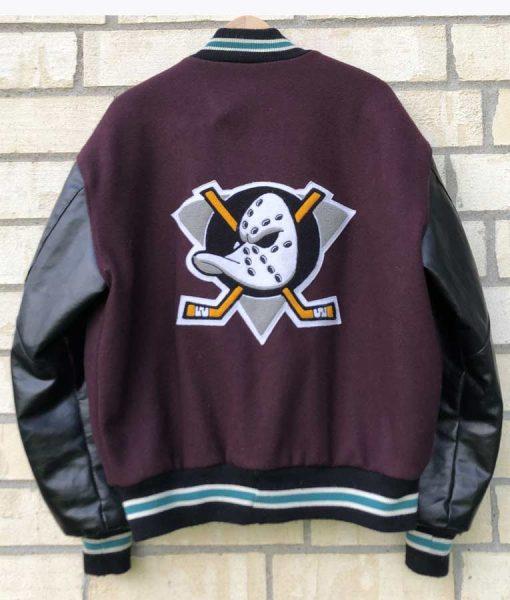 Mighty Ducks Letterman Jacket