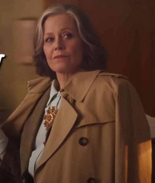 My Salinger Year 2021 Sigourney Weaver Coat