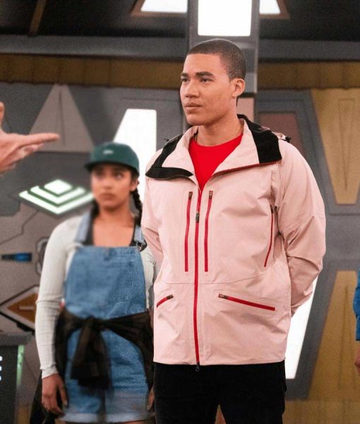 Power Rangers Dino Fury (2021) Russell Curry Jacket