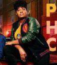 Pretty Hard Cases Adrienne C. Moore Letterman jacket