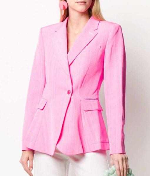Riverdale S05 Madelaine Petsch Pink Blazer