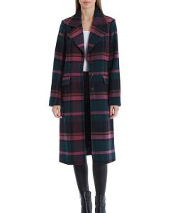 Riverdale S05 Plaid Veronica Lodge Trench Coat