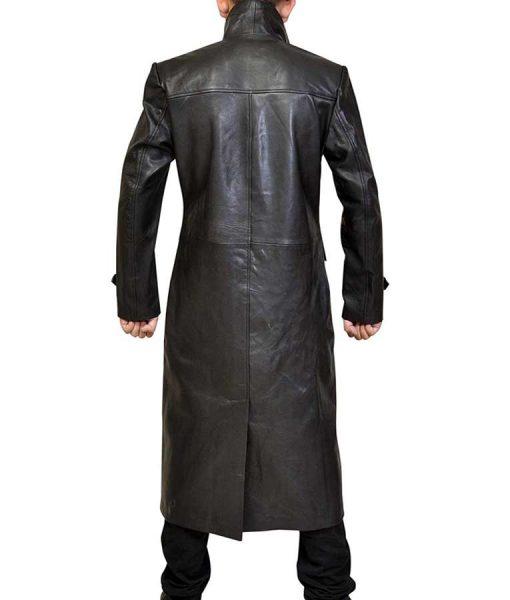 Superman Smallville Clark Kent Leather Coat