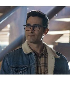 Tyler Hoechlin Superman and Lois Denim Jacket