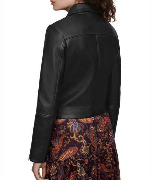 Jodie The Drowning Black Leather Jacket