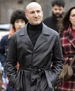 The Drowning Shashi Rami Leather Coat