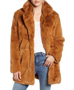 The Equalizer 2021 Liza Lapira Faux Fur Coat
