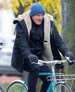 The Man from Toronto Woody Harrelson Black Jacket