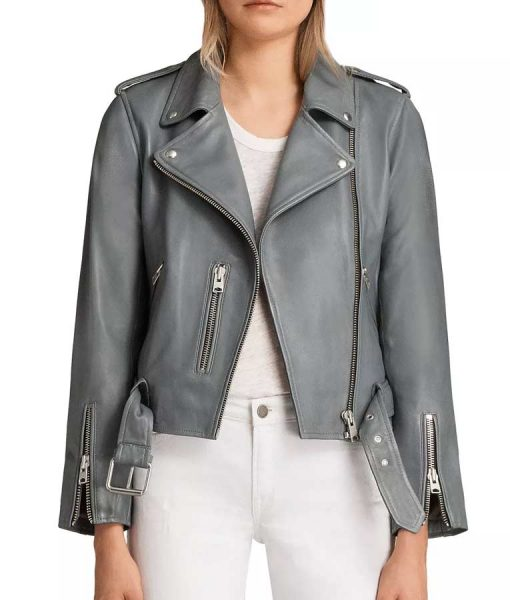 The Rookie S03 Nyla Harper Leather Jacket
