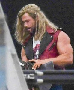 Thor Love and Thunder (2022) Thor Leather Vest