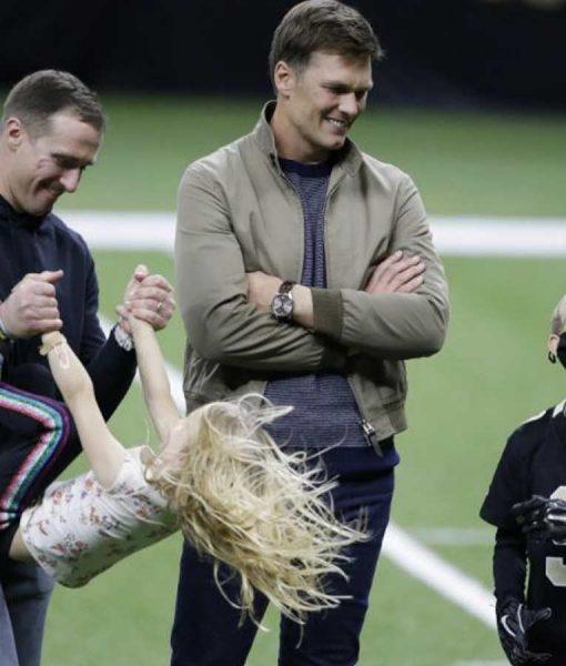 Tom Brady Jacket Post Game