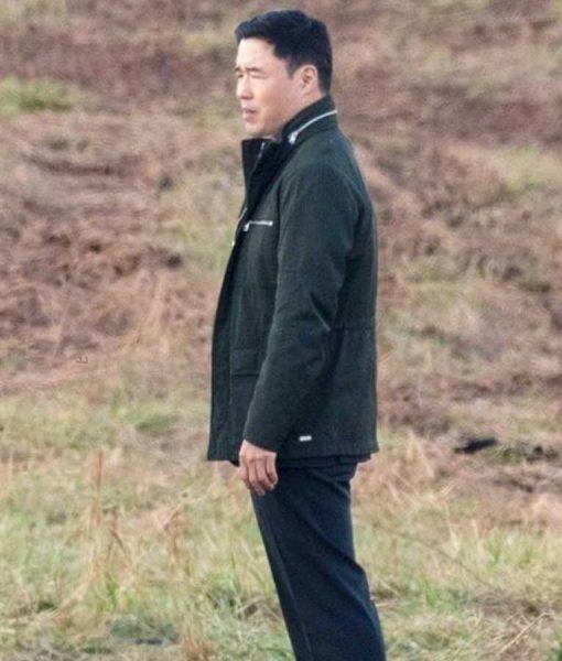 WandaVision Jimmy Woo Black Cotton Jacket