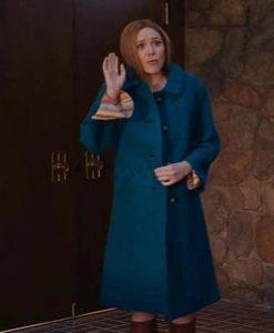 WandaVision Wanda Maximoff Blue Coat