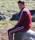 2021 Yes Day Carlos Torres Maroon Tracksuit