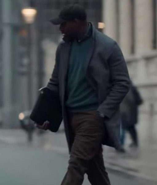 Arsene Lupin Omar Sy Grey Coat
