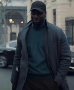 Arsene 2021 Lupin Omar Sy Grey Coat