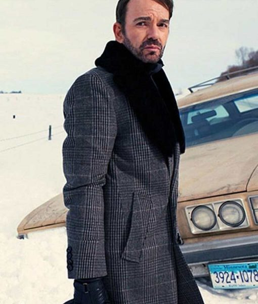 Fargo Lorne Malvo Coat With Fur Collar