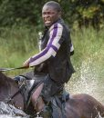 David Oyelowo Chaos Walking 2021 Aaron Leather Jacket