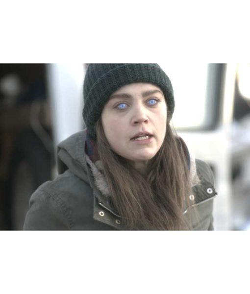 Enhanced Anna Jacket With Hood