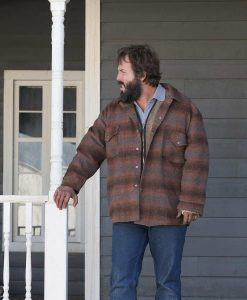 Angus Sampson Fargo Season 02 Bear Gerhardt Plaid Jacket