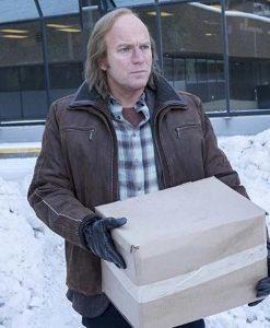 Fargo S03 Emmit Stussy Leather Jacket