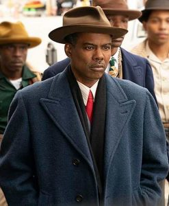 Fargo S04 Loy Cannon Blue Trench Coat
