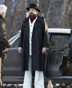 Fargo Wayne Kitchen Black Leather Coat