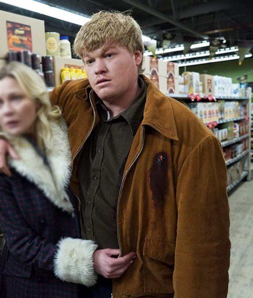 Fargo Ed Blumquist Suede Leather Jacket
