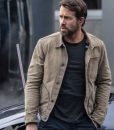 The Adam Project 2021 Ryan Reynolds Cotton Jacket