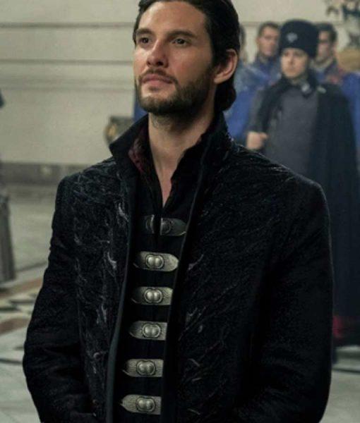Shadow and Bone 2021 General Kirigan Black Coat