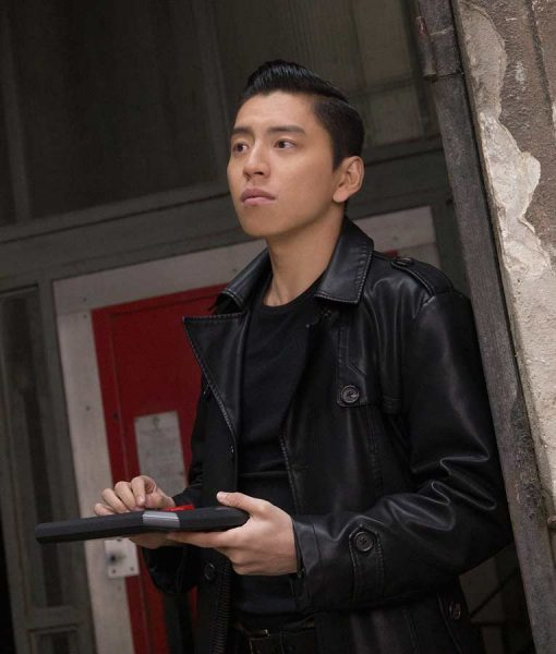 The Rookies Zhao Feng Leather Coat