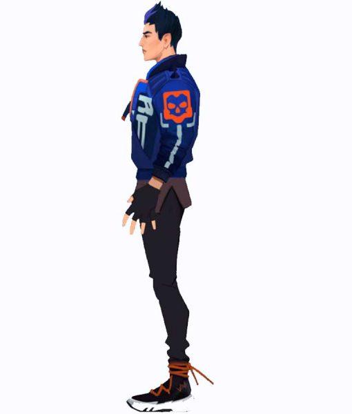 Valorant Yoru Leather Jacket