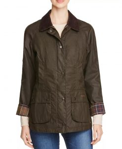 Big Sky (2021) Cassie Dewell Olive Green Jacket