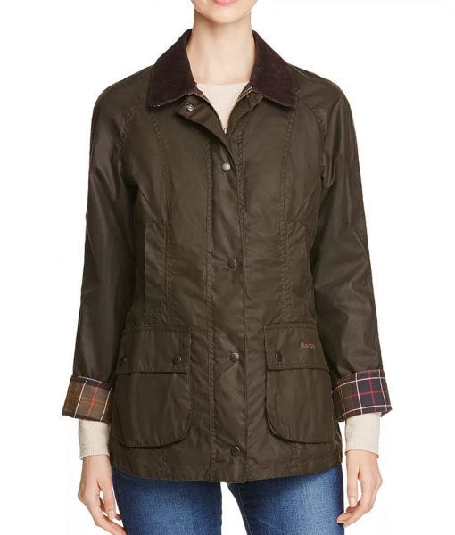 Big Sky Cassie Dewell Olive Green Jacket