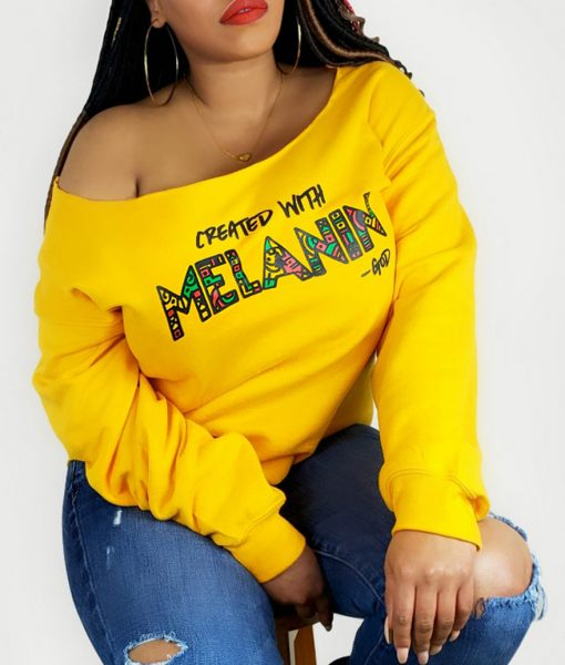 Created with Melanin Sweatshirt