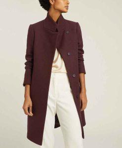 Legacies S03 Danielle Rose Russell Wool-blend Coat