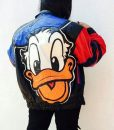 Donald Duck Leather Jacket