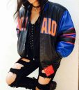 Donald Duck Colorful Leather Jacket